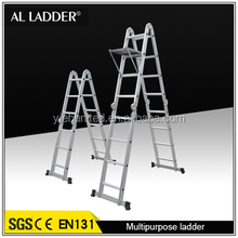 A type aluminum multipurpose ladder