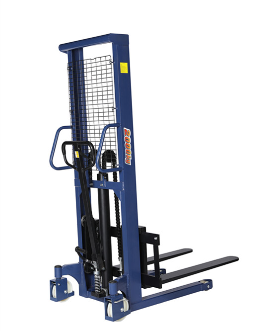 1500kg Powered Drive Lift Electric Pallet Stacker