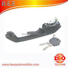 Scania 112/113 car front door handle outer/lockable with keys/right 296210,356086,0296210,0356086,1306976