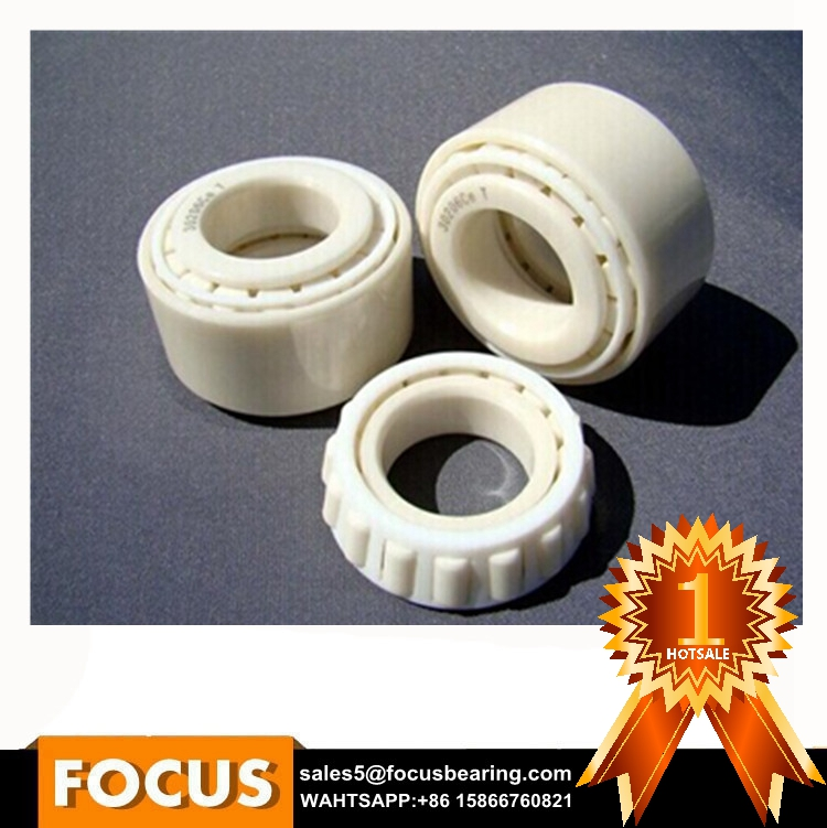 Long Life Oil Free Isolated ZrO2 Si3N4 ceramic bearing r188