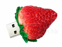 Delicous food strawberry shaped usb flash drive
