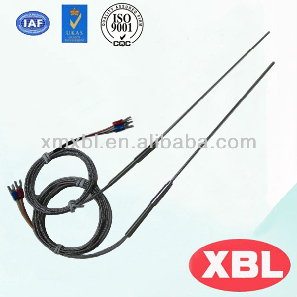 Mineral insulated k/ J type thermocouples temperature probe