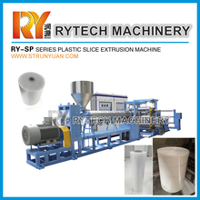 PS Sheet Extruder Line Plastic PP Sheet Extrusion Machine