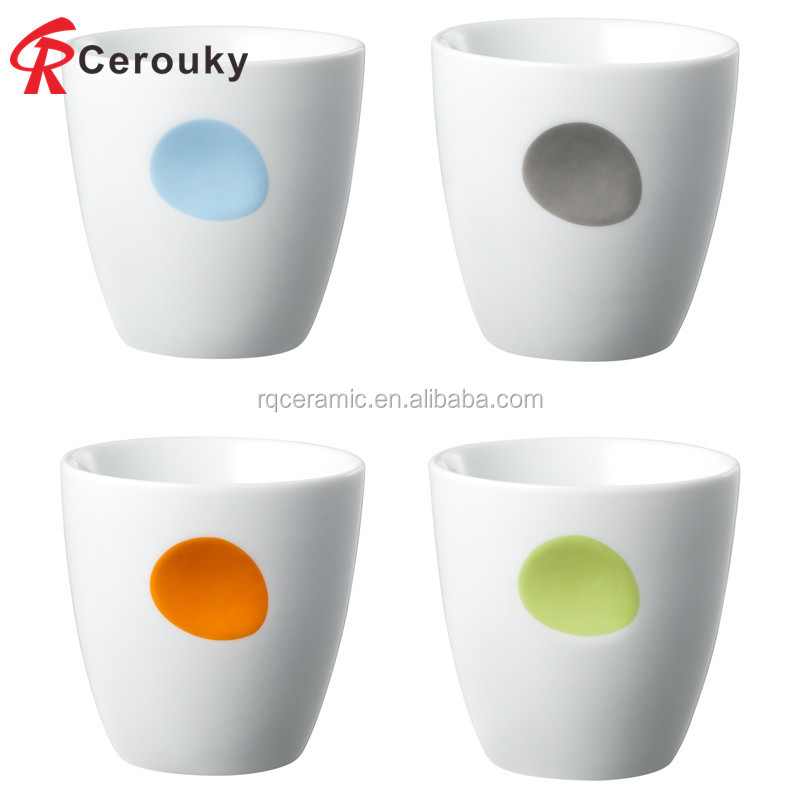 Cost-effective OEM Wholesale Colorful glazed Ceramic Coffee Mug Without Handle