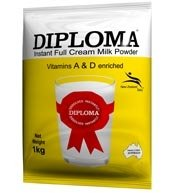 DIPLOMA FULL CREAM MILK powder