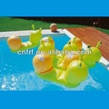 inflatable pool rider float snail ride on toy