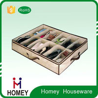 Promotional Factory shoe storage box, cardboard shoe organizer for Customize