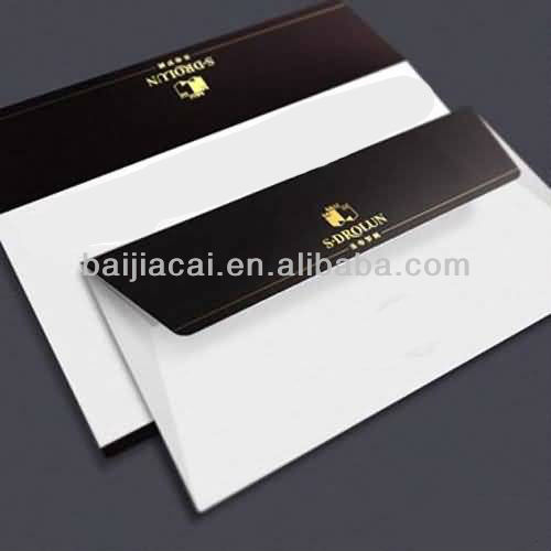 China folded paper envelope printing factory