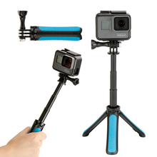 Ulanzi Tripod for DJI Osmo Action Handheld Extension Pole Monopod Tripod Selfie Stick for <strong>Gopro</strong>/DJI Osmo Action