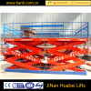 electric drive hydraulic scissor platform lifting jacks