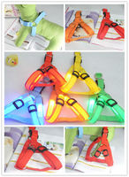 H066 2013 new design LED pet dog harness