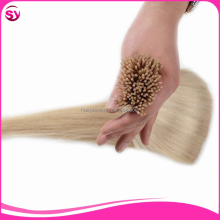 Brazilian Pre Bonded I Tip Hair 0.5G Per Strand Cheap Straight Fusion Keratin Hair Extension