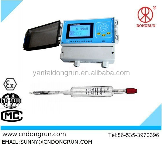 PHS-8B Industrial Online Digital Acid meter / pH Meter /manufacturer