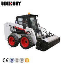 Top Quality 1 ton Small Hydraulic Vibratory Road Roller Skid Steer Loader LH1075 Mini Loaders