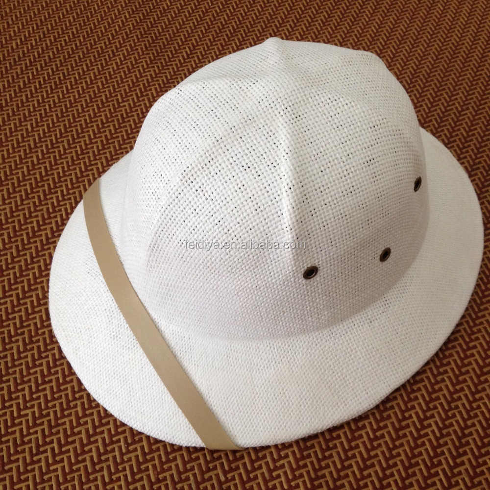 wholesales pith safety helmet hat , straw hats