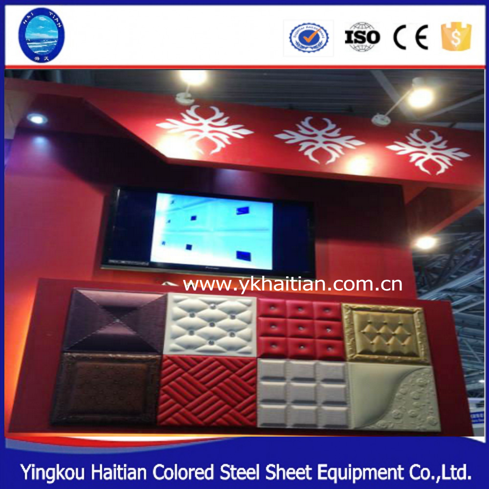 China Factory High Quality 3D Leather Wall Panels for Interior Decoration