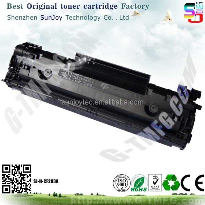 New compatible black CF283A Toner Cartridge 83A for HP LaserJet Pro MFP M127fn
