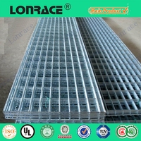 china wholesale stainless steel/heavy gauge galvanized welded wire mesh panel