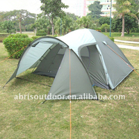 LARGE 5 PERSON FAMILY TUNNEL TENT WITH BIG LIVING ROOM-oliver