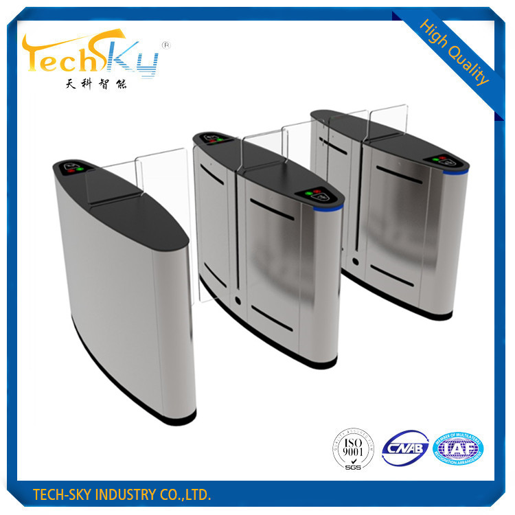 Adopted high quality import 304 stainless steel full automatic sliding turnstile for access control
