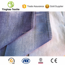 Cotton elastane blend stretch denim apparel fabric