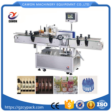 Round Wine Bottle Adhesive Automatic Canned Labeling Machine