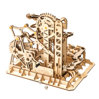 Robotime Mechanical puzzle 3D wooden marble run toy LG504