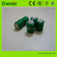 2014 new product 3.6V 80mAhRechargeable NiMH Button Cell Battery