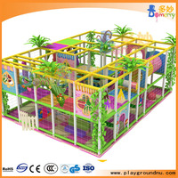 Kids indoor playground for playing adventure euqipment games design
