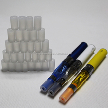 Food grade silicone test tip for e-cig evod ego vaporizer tank atomizer vapor tester disposable drip tips clear