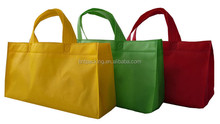 2016 Hot sale eco friendly shopping various color available printed non woven bags