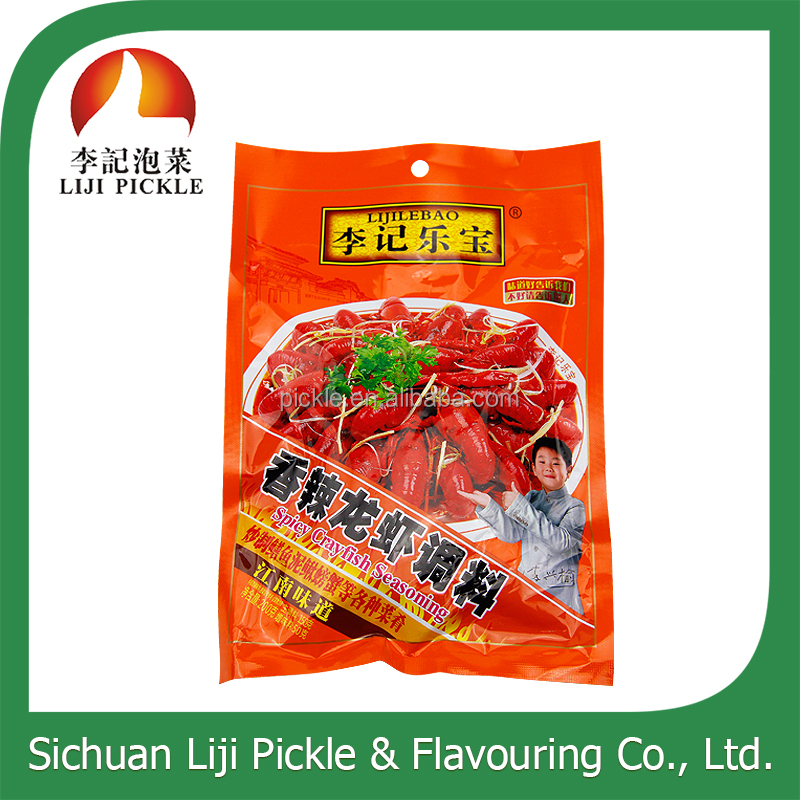 Spicy flavour ingredient China hot sale condiment for lobster, spicy crayfish seasoning