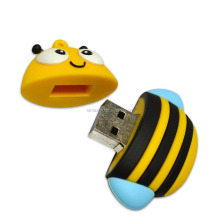 TOMAX wholesale PVC cartoon style 4G 8G 16G 32G 64G USB2.0 memory stick Bee USB flash drive