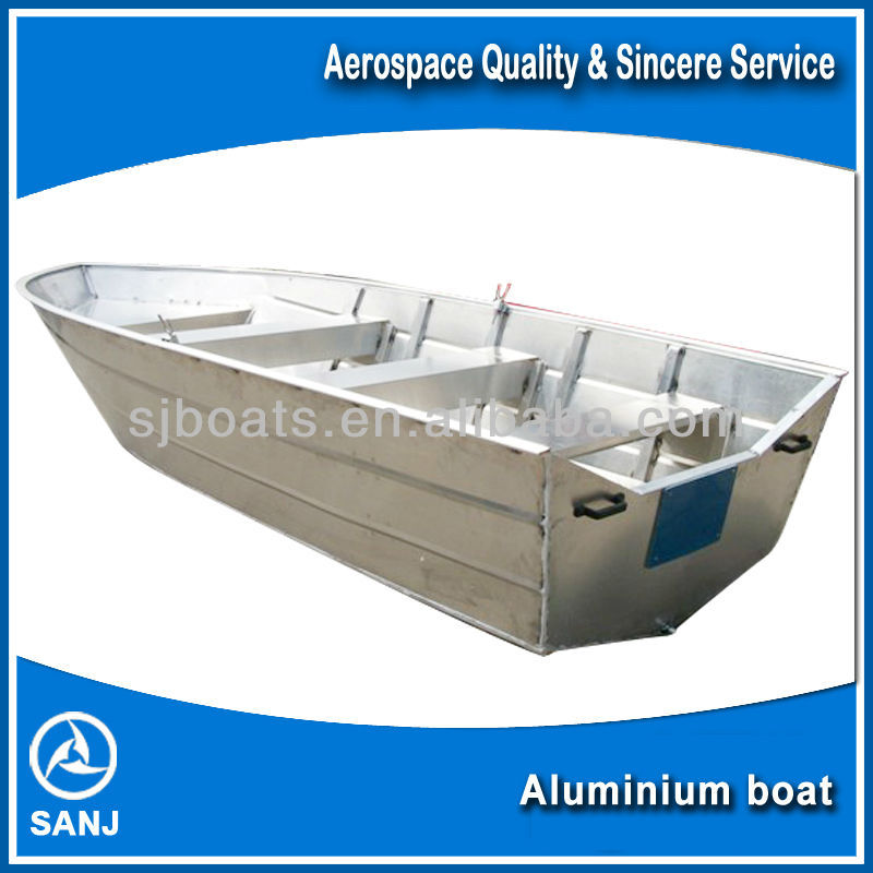 SANJ Small Aluminium fishing vessel for sale with Outboard Engine