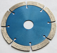 108mm segmented saw blade for cutting granite working with hand grinder