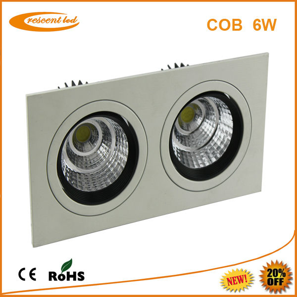 hotel <strong>led</strong> downlight 6w square white color <strong>led</strong> downlight