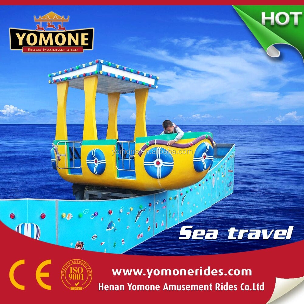 2015 new products Amusement rides Slide Boat amusement park rides used outdoor equipment for sale