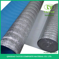China industrial aluminum foil epe foam with closed cell thermal insulation basement