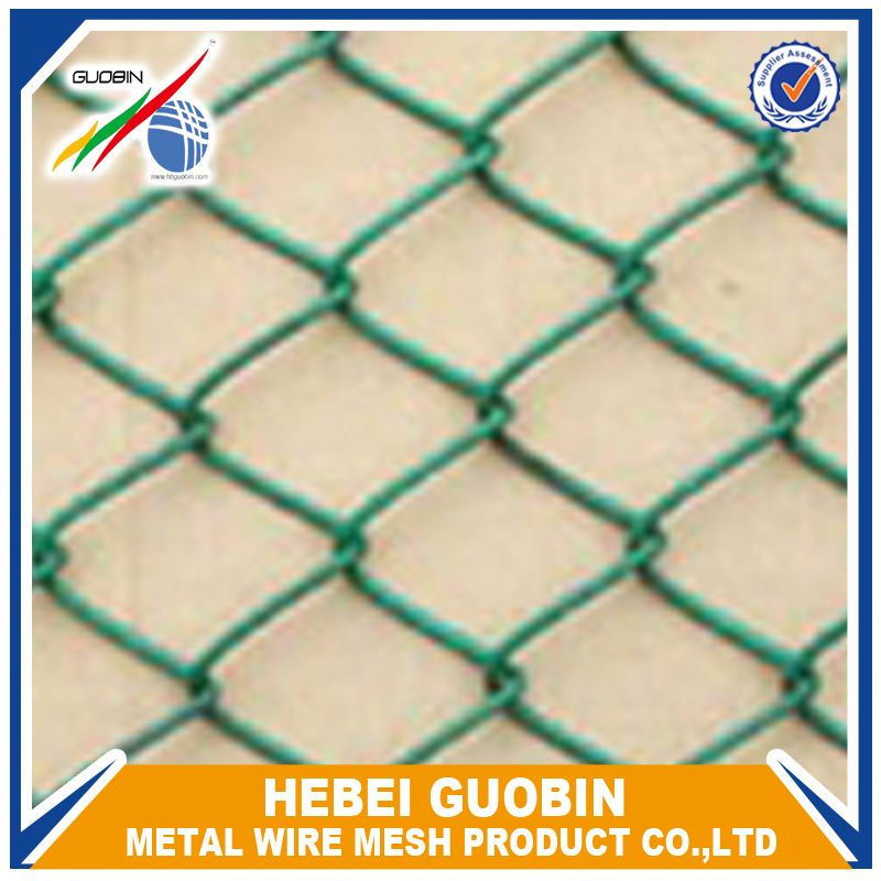 removable barbed galvanized wire chain link fence