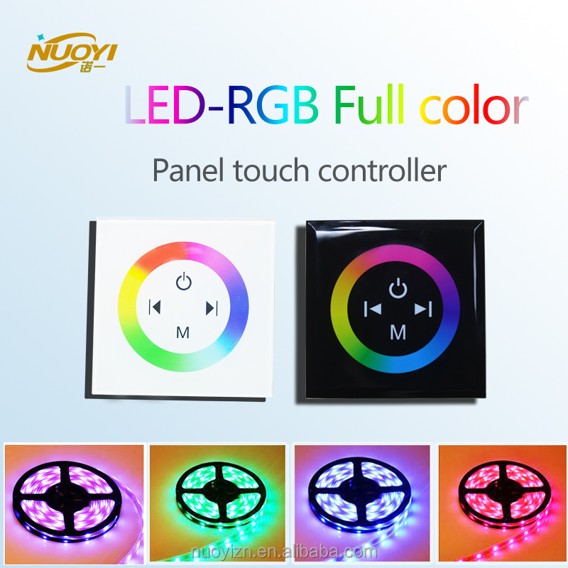 Hot sale LED-RGB full color touch panel controller for colorful strip