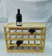 Solid Wooden Storage Rack/Shelf for wine/beer