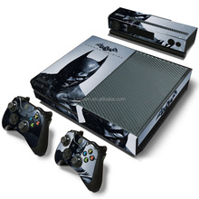 Factory price skin sticker for Xbox one console.Low moq