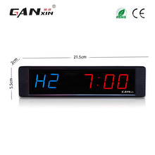 [Ganxin]1 Inch Programmable Led Gym Interval Timer Gym Exercise Use Led Sports Timer