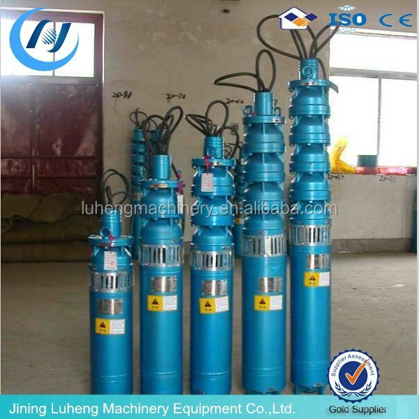 250QJ 37KW Multistage Submersible Water Pump