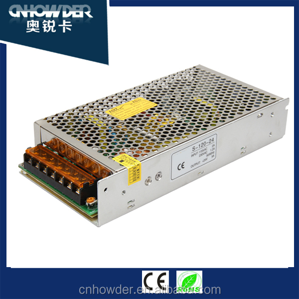 LED Power Supply S-120-12 10a 120w 220Vac TO 12Vdc Swith Power Supply with CE ROHS