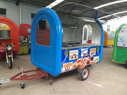easy move street mobile food cart /food catering trucks