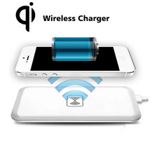 Power bank charger for iphone 6/ 6s qi wireless charger high quality efficiency mobile charger universal adaptor NEW business