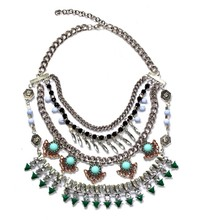 fashionable layered statement necklace jewelry supplies alibaba china wholesale western jewelry supplies