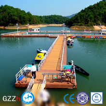 modular plastic pontoon dock for lakes with competitive price