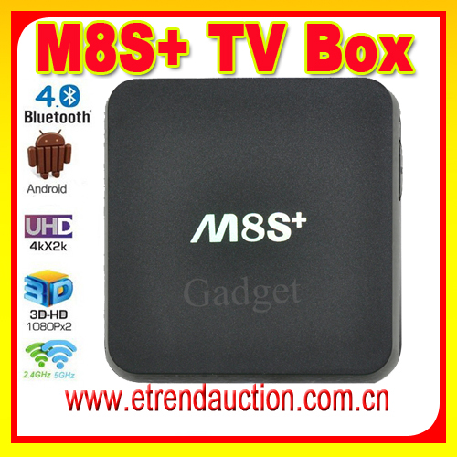 High Definition and Digital Type M8S plus Amlogic S812 Quad Core Google Android 5.1 Android Tv Box m8s plus M8S+ 2G/8G KODI Box